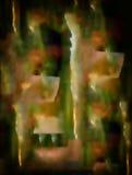 Airbrush στο γυαλί Στοκ Φωτογραφία