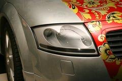 Airbrush on a car Stock Photos