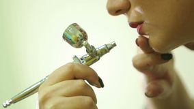 Airbrush makeup φιλμ μικρού μήκους