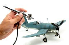 Airbrushing Foto de Stock