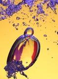 Airbubbles im Wasser Lizenzfreies Stockfoto