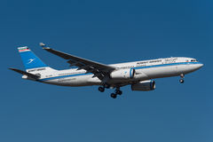 Airbus εναέριων διαδρόμων του Κουβέιτ A330 Στοκ Εικόνα