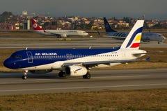 Airbus της Μολδαβίας αέρα A320 Στοκ Εικόνα