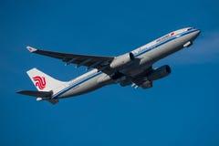Airbus της Air China A330 Στοκ φωτογραφία με δικαίωμα ελεύθερης χρήσης