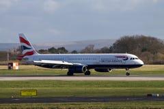 Airbus της British Airways A320 Στοκ Εικόνες