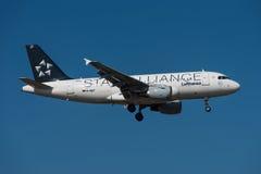 Airbus της Lufthansa A319 Στοκ εικόνες με δικαίωμα ελεύθερης χρήσης