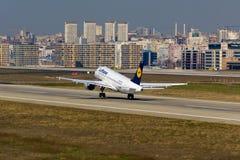 Airbus της Lufthansa A319 Στοκ Φωτογραφία
