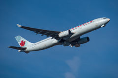 Airbus του Air Canada A330 Στοκ Εικόνες