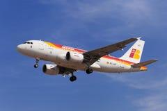Airbus του Iberia A319 Στοκ Φωτογραφία