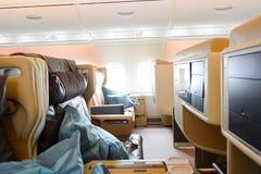 Airbus A380 Stockbild