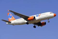Airbus 320-232 Foto de Stock
