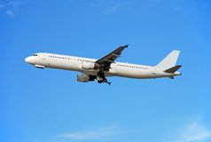 Airbus A-321 passenger jet Stock Photography