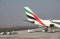 Airbus 330 emiratów Zdjęcie Stock