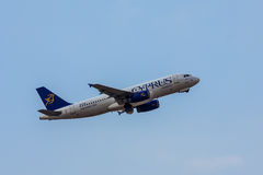Airbus A320 Immagini Stock