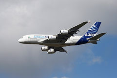 Airbus 380 Stock Photo