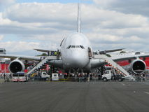 Airbus a 380 Royalty Free Stock Image
