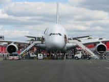 Airbus 380 Imagen de archivo libre de regalías