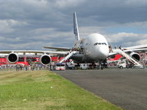 Airbus a 380 Royalty Free Stock Photos