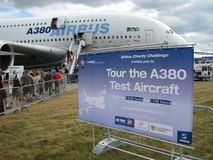 Airbus a 380 Stock Photography