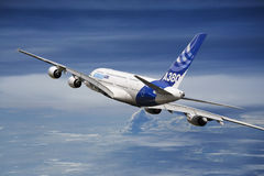 Airbus 380 Photographie stock