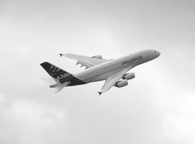 Airbus a 380  Royalty Free Stock Photo