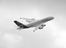 Airbus 380   Foto de archivo libre de regalías