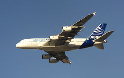 Airbus 380 in Dubai Royalty Free Stock Images