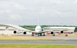 Airbus A380 Foto de Stock Royalty Free