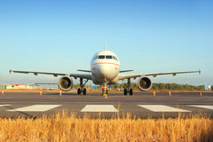 Airbus A320 Imagem de Stock Royalty Free