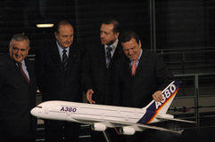 Airbus A 380 Fotografia de Stock