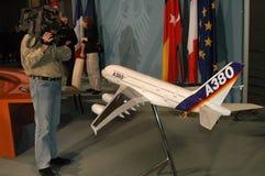 Airbus A 380 Imagem de Stock