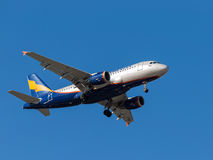 Airbus A319 Imagens de Stock Royalty Free