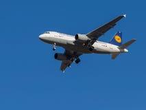 Airbus A319-100 Foto de Stock