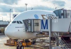 Airbus A380 Lizenzfreies Stockfoto
