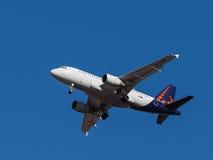Airbus A319 Foto de Stock