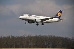 Airbus A319-114 Imagens de Stock