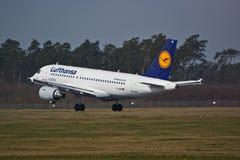 Airbus A319-114 Imagem de Stock Royalty Free