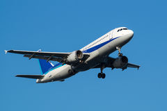 Airbus A320-200 Images libres de droits
