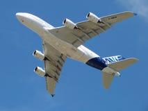 Airbus 380 Immagine Stock