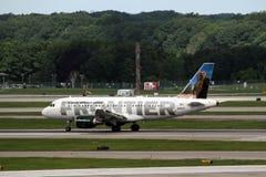 Airbus A319-112 Fotografia Stock Libera da Diritti