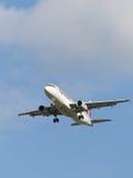 Εναέριοι διάδρομοι airbus A320-232 Κατάρ Στοκ εικόνες με δικαίωμα ελεύθερης χρήσης