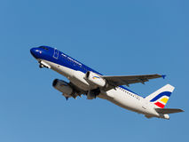 Airbus A320-233 Fotografia de Stock Royalty Free