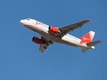 Airbus A319-111 Fotografia de Stock Royalty Free