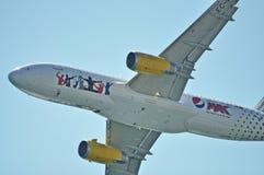 Airbus 320 Fotografía de archivo libre de regalías