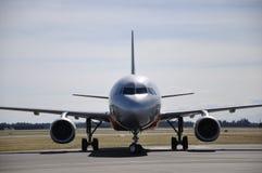 Airbus 320 Imágenes de archivo libres de regalías