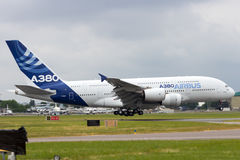 Airbus A380 Fotografia de Stock