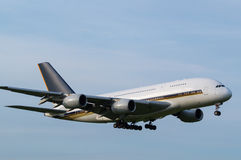 Airbus A380-800 Foto de Stock Royalty Free