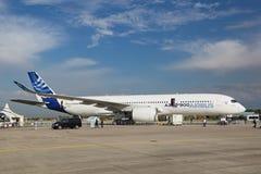 Airbus A350-900 Fotografia de Stock Royalty Free