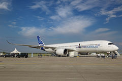 Airbus A350-900 Imagens de Stock Royalty Free
