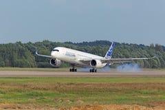 Airbus A350-900 Imagem de Stock Royalty Free